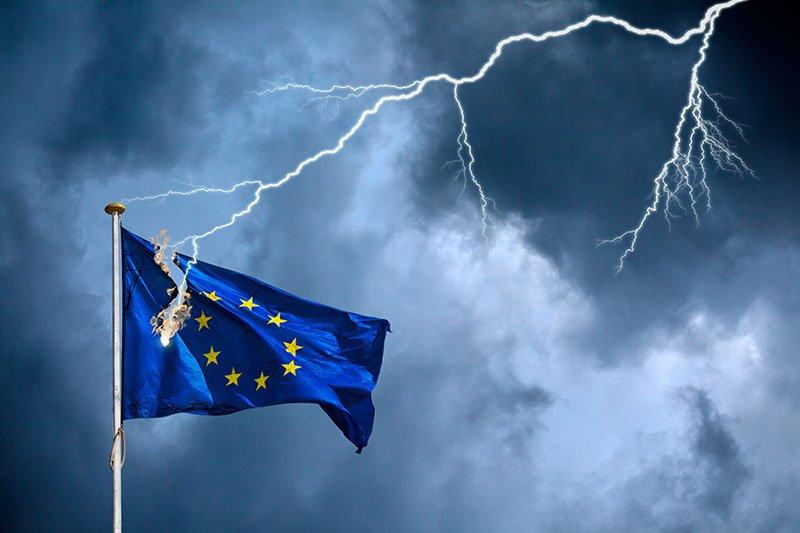 Brexit kleurt beurzen bloedrood